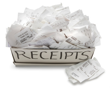 reciepts
